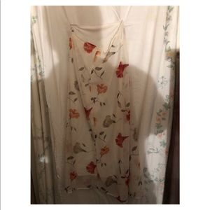 Dresses & Skirts - Ladies long skirt with flowers.
